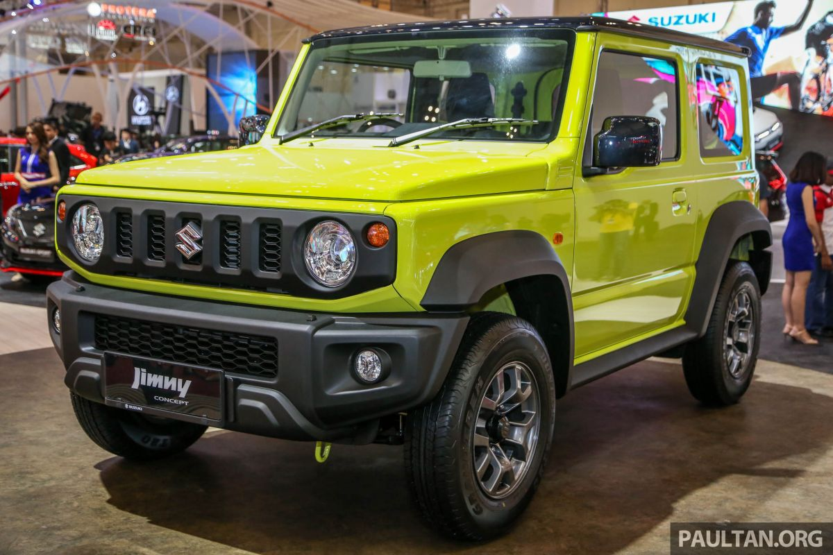 giias 2018 new suzuki jimny to be indonesian made. Black Bedroom Furniture Sets. Home Design Ideas