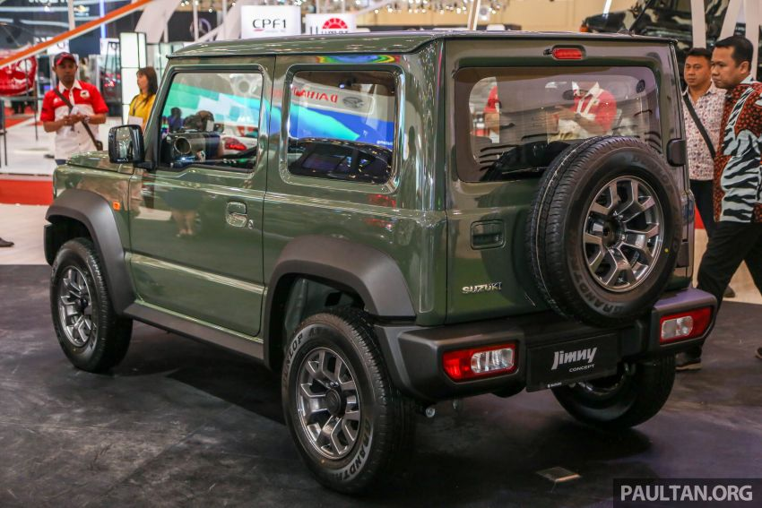 GIIAS 2018: New Suzuki Jimny to be Indonesian-made Image #846597