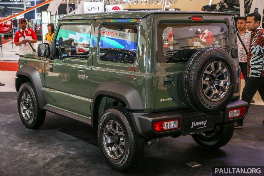 GIIAS 2018: Suzuki Jimny generasi baharu akan di pasang di Indonesia, turut akan dieksport ke Thailand Image #846950