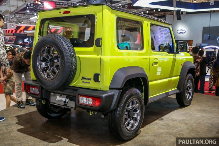 GIIAS 2018: Suzuki Jimny generasi baharu akan di pasang di Indonesia, turut akan dieksport ke Thailand Image #846942