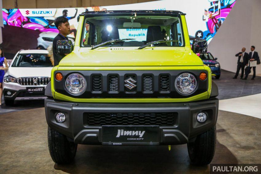 GIIAS 2018: Suzuki Jimny generasi baharu akan di pasang di Indonesia, turut akan dieksport ke Thailand Image #846943