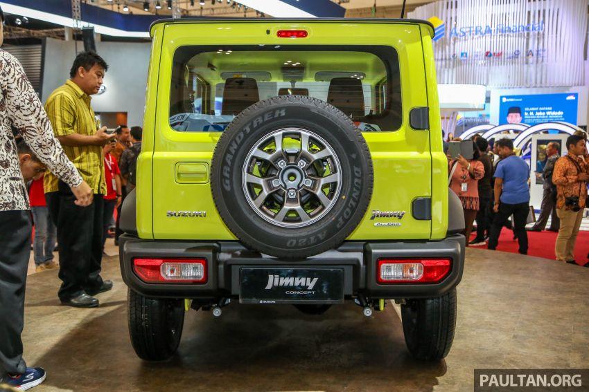 GIIAS 2018: Suzuki Jimny generasi baharu akan di pasang di Indonesia, turut akan dieksport ke Thailand Image #846944