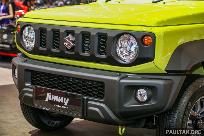 GIIAS 2018: Suzuki Jimny generasi baharu akan di pasang di Indonesia, turut akan dieksport ke Thailand Image #846946