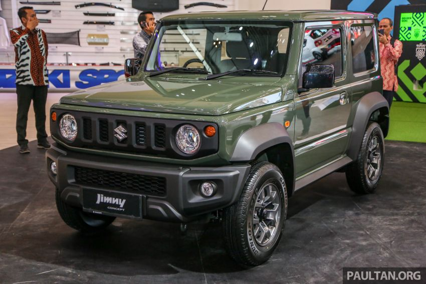 GIIAS 2018: New Suzuki Jimny to be Indonesian-made Image #846596