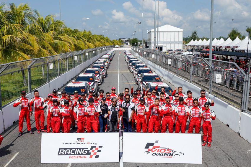 Perlumbaan kedua <em>Vios Challenge</em> di Terengganu terus dipenuhi aksi-aksi dramatik dan semangat tinggi Image #847478