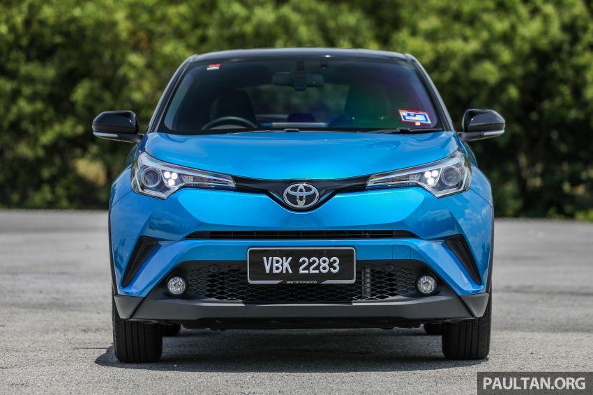PANDU UJI: Toyota C-HR – Penyatuan ekspresi gaya dan prestasi kuasa; berbaloikah dengan harganya? Image #855127