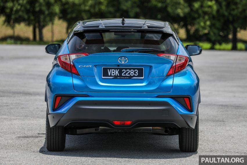 PANDU UJI: Toyota C-HR – Penyatuan ekspresi gaya dan prestasi kuasa; berbaloikah dengan harganya? Image #855128