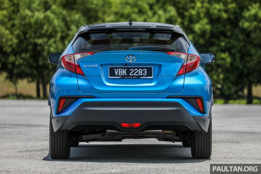 PANDU UJI: Toyota C-HR – Penyatuan ekspresi gaya dan prestasi kuasa; berbaloikah dengan harganya? Image #855129