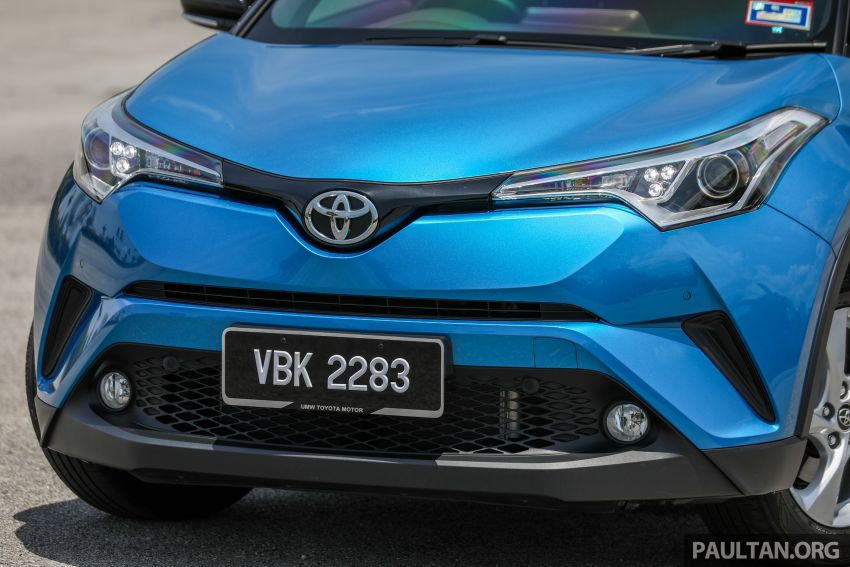 PANDU UJI: Toyota C-HR – Penyatuan ekspresi gaya dan prestasi kuasa; berbaloikah dengan harganya? Image #855133
