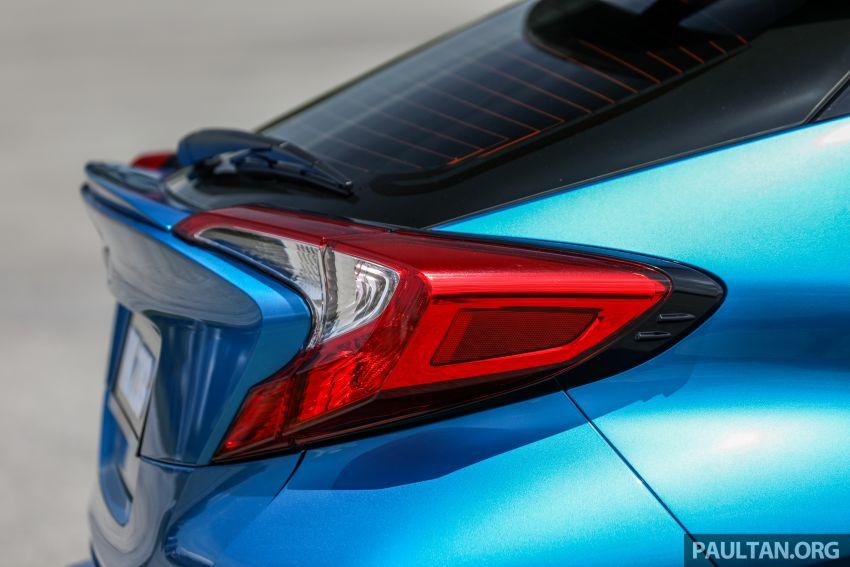 PANDU UJI: Toyota C-HR – Penyatuan ekspresi gaya dan prestasi kuasa; berbaloikah dengan harganya? Image #855152