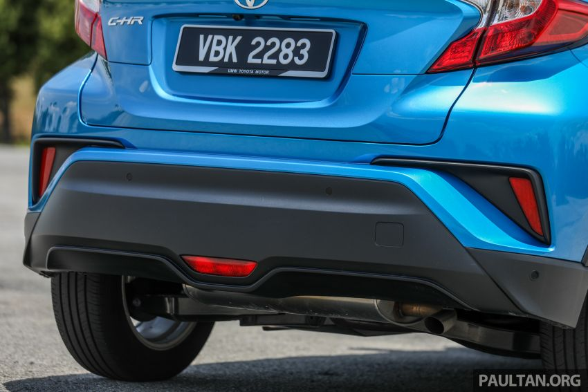 PANDU UJI: Toyota C-HR – Penyatuan ekspresi gaya dan prestasi kuasa; berbaloikah dengan harganya? Image #855154