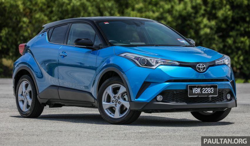 PANDU UJI: Toyota C-HR – Penyatuan ekspresi gaya dan prestasi kuasa; berbaloikah dengan harganya? Image #855120