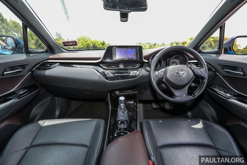 PANDU UJI: Toyota C-HR – Penyatuan ekspresi gaya dan prestasi kuasa; berbaloikah dengan harganya? Image #855162
