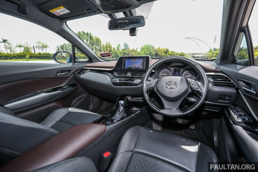 PANDU UJI: Toyota C-HR – Penyatuan ekspresi gaya dan prestasi kuasa; berbaloikah dengan harganya? Image #855163