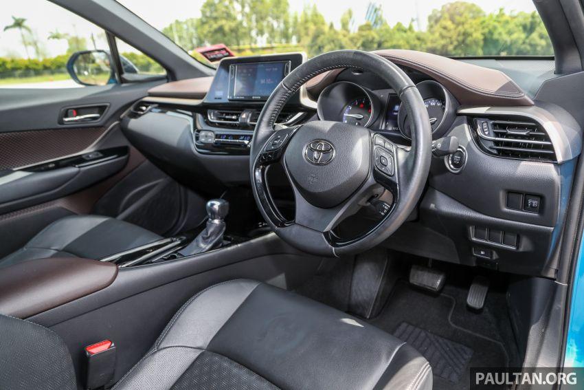 PANDU UJI: Toyota C-HR – Penyatuan ekspresi gaya dan prestasi kuasa; berbaloikah dengan harganya? Image #855164