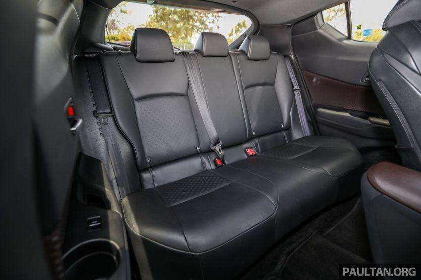 PANDU UJI: Toyota C-HR – Penyatuan ekspresi gaya dan prestasi kuasa; berbaloikah dengan harganya? Image #855202