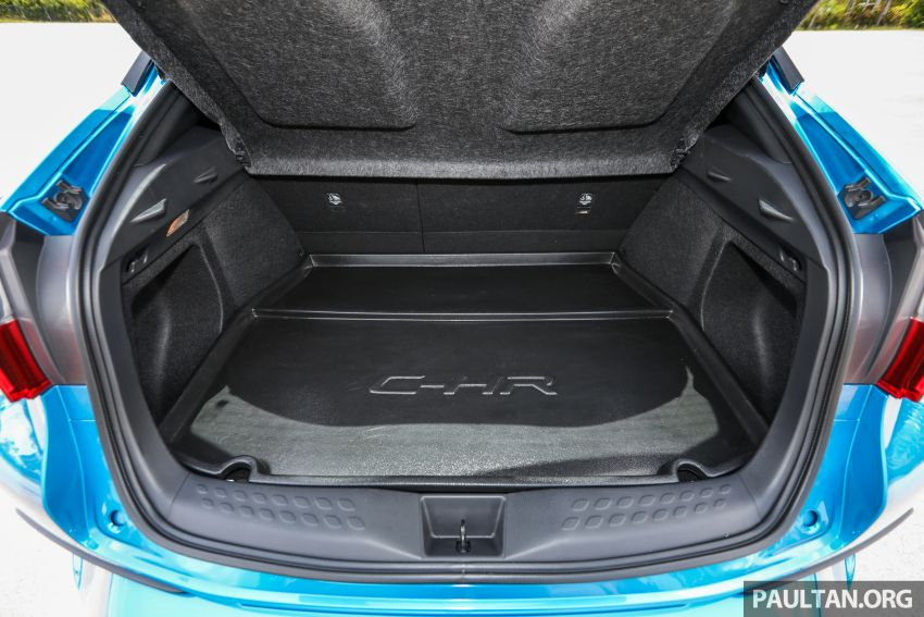 PANDU UJI: Toyota C-HR – Penyatuan ekspresi gaya dan prestasi kuasa; berbaloikah dengan harganya? Image #855206