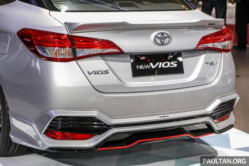 GIIAS 2018: Toyota Vios TRD prototaip nampak garang Image #850180