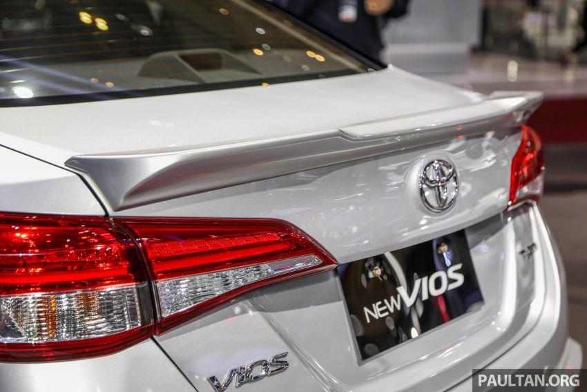 GIIAS 2018: Toyota Vios TRD prototaip nampak garang Image #850181