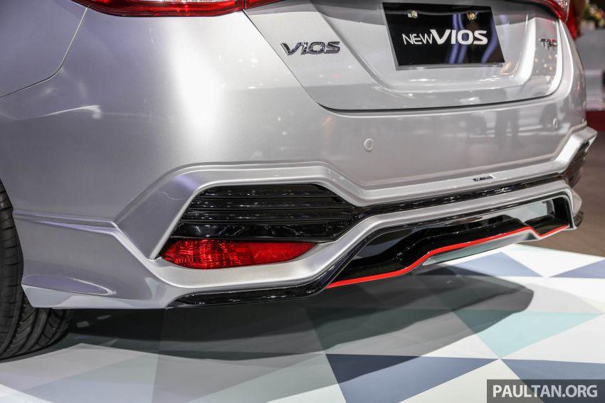 GIIAS 2018: Toyota Vios TRD prototaip nampak garang Image #850182