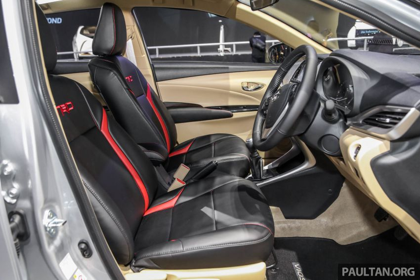 GIIAS 2018: Toyota Vios TRD prototaip nampak garang Image #850183