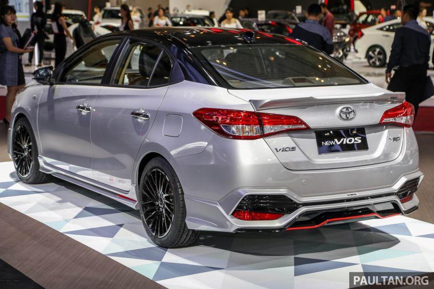 GIIAS 2018: Toyota Vios TRD prototaip nampak garang Image #850172