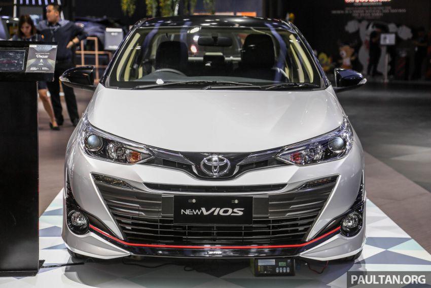 GIIAS 2018: Toyota Vios TRD prototaip nampak garang Image #850173