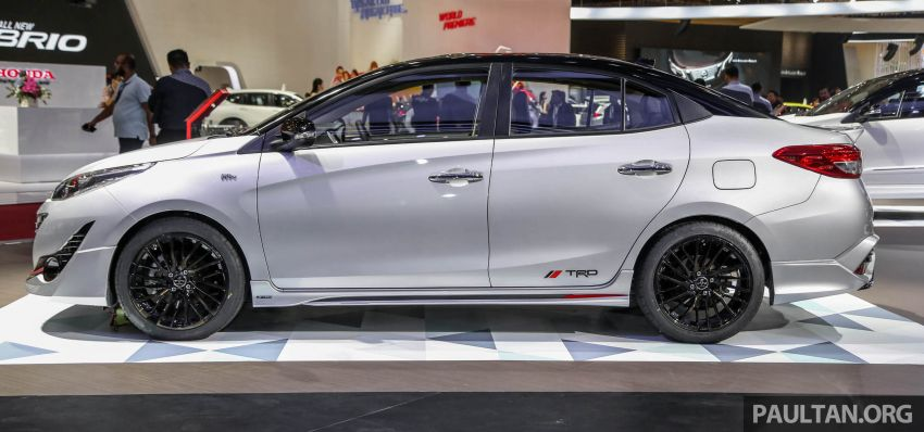 GIIAS 2018: Toyota Vios TRD prototaip nampak garang Image #850175