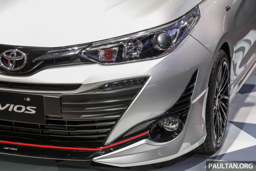 GIIAS 2018: Toyota Vios TRD prototaip nampak garang Image #850177