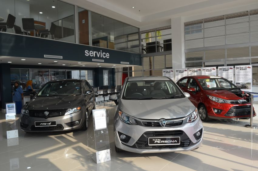 Proton opens new 4S centre in Jalan Kebun, Klang Image #847438
