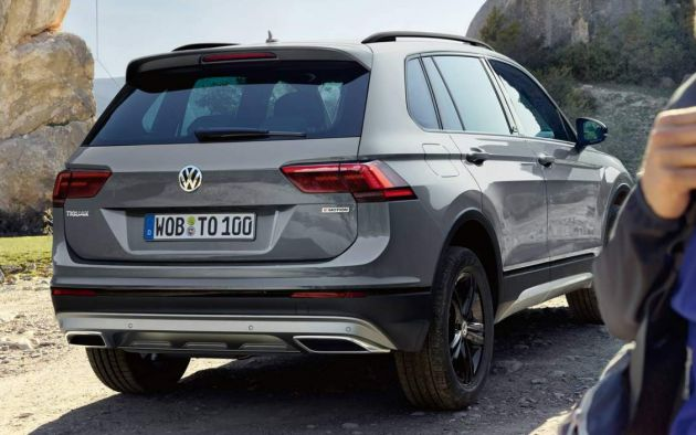 volkswagen tiguan offroad  revealed  moscow