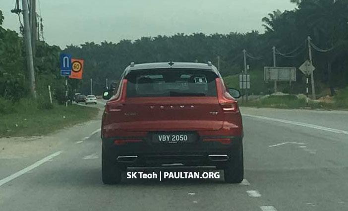 SPYSHOTS: Volvo XC40 SUV in Malaysia, T5 R-Design Image #851463