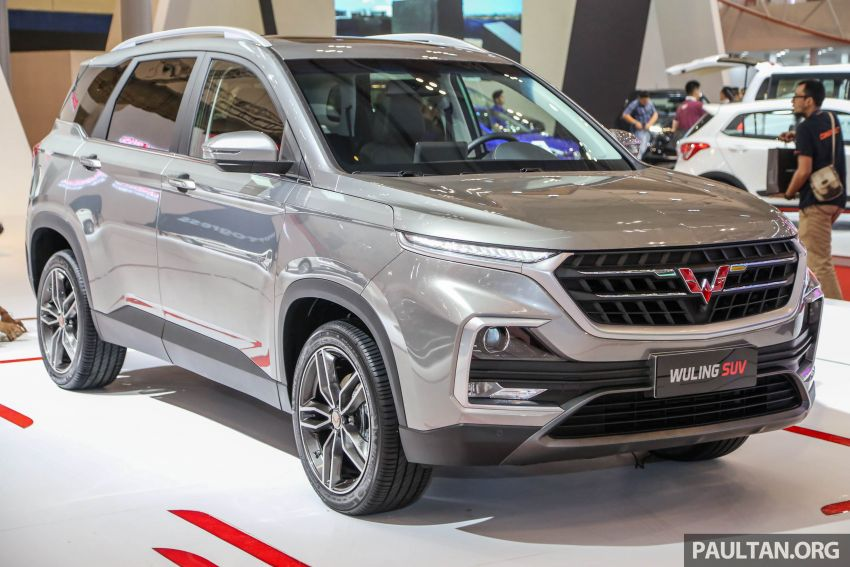 GIIAS 2018: Wuling previews upcoming SUV for Indonesia, based on Chinese market Baojun 530 Image #850439