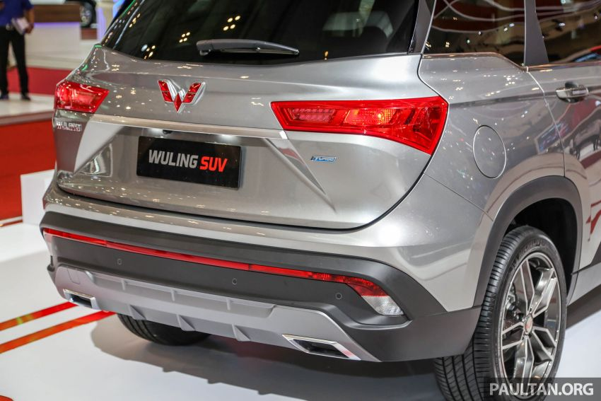 GIIAS 2018: Wuling previews upcoming SUV for Indonesia, based on Chinese market Baojun 530 Image #850448