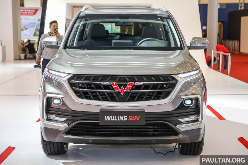 GIIAS 2018: Wuling previews upcoming SUV for Indonesia, based on Chinese market Baojun 530 Image #850441