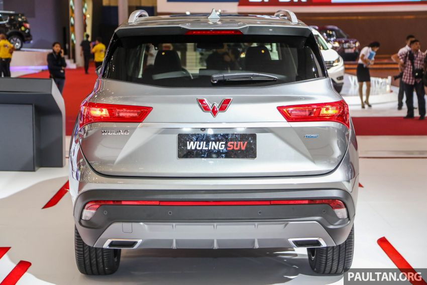 GIIAS 2018: Wuling previews upcoming SUV for Indonesia, based on Chinese market Baojun 530 Image #850442