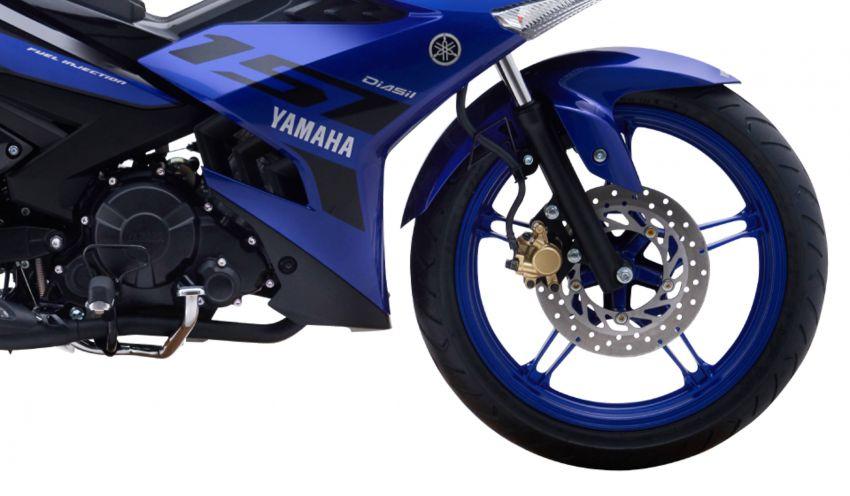 Yamaha Exciter 150 atau Y15ZR 2019 ditunjuk secara rasmi – enjin masih 150 cc, banyak kelengkapan baru Image #847095