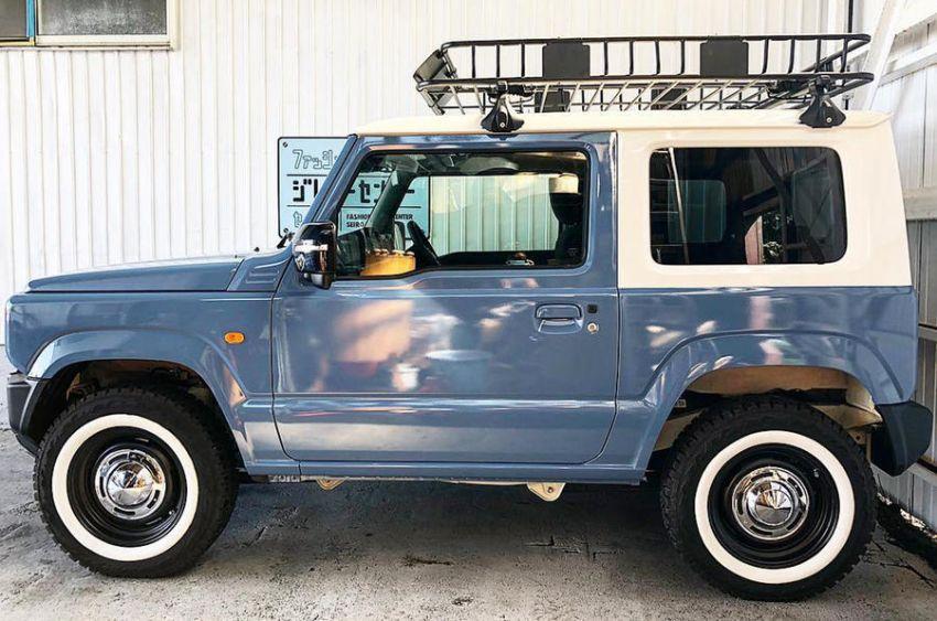 Suzuki Jimny generasi baharu dengan rupa model klasik asli, hasil ubahsuai Jimny Center Niigata, Jepun Image #851423