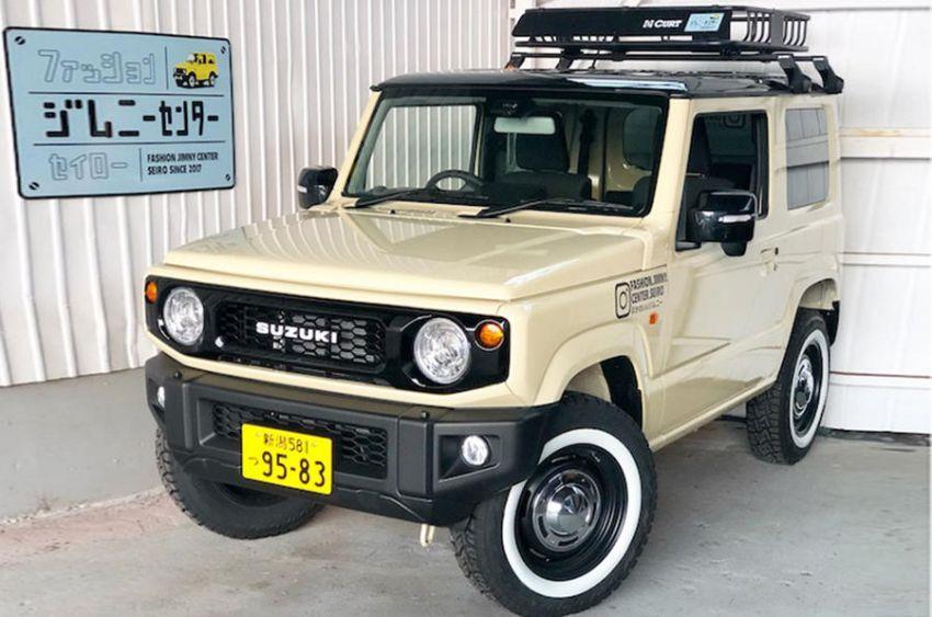 Suzuki Jimny generasi baharu dengan rupa model klasik asli, hasil ubahsuai Jimny Center Niigata, Jepun Image #851426