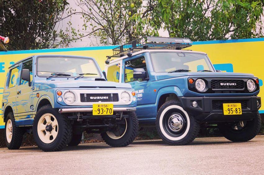Suzuki Jimny generasi baharu dengan rupa model klasik asli, hasil ubahsuai Jimny Center Niigata, Jepun Image #851428