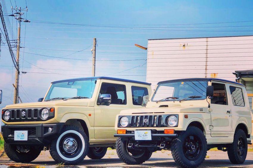 Suzuki Jimny generasi baharu dengan rupa model klasik asli, hasil ubahsuai Jimny Center Niigata, Jepun Image #851427
