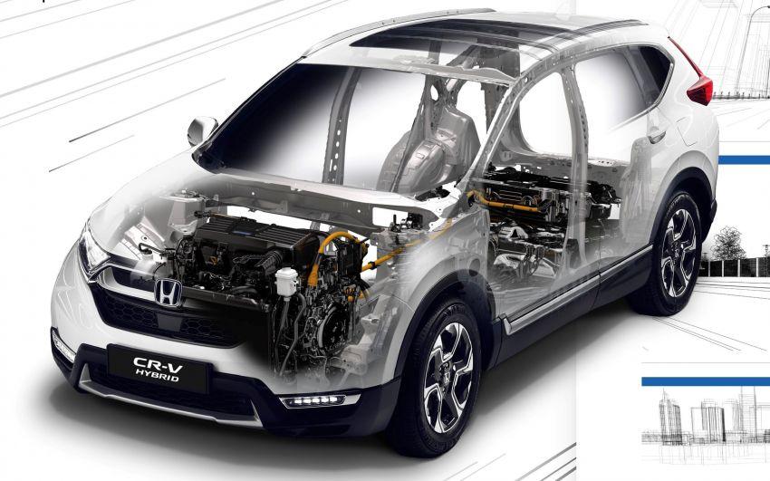 Honda CR-V Hybrid mula diperkenalkan di Eropah – enjin petrol 2.0L dengan sistem i-MMD, 184 PS/315 Nm Image #863088