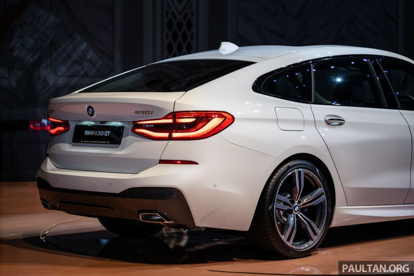 BMW 6 Series Gran Turismo launched in Malaysia – locally-assembled CKD 630i GT for RM450k est Image #858434