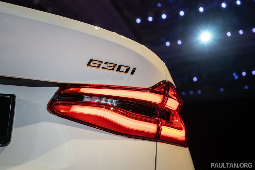 BMW 6 Series Gran Turismo launched in Malaysia – locally-assembled CKD 630i GT for RM450k est Image #858438