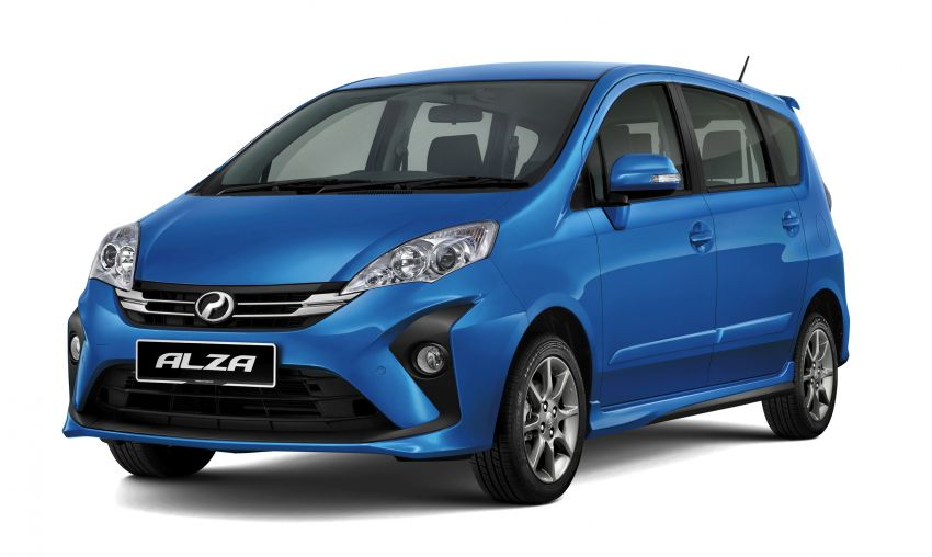 2018 Perodua Alza facelift introduced – from RM51k Image #857748