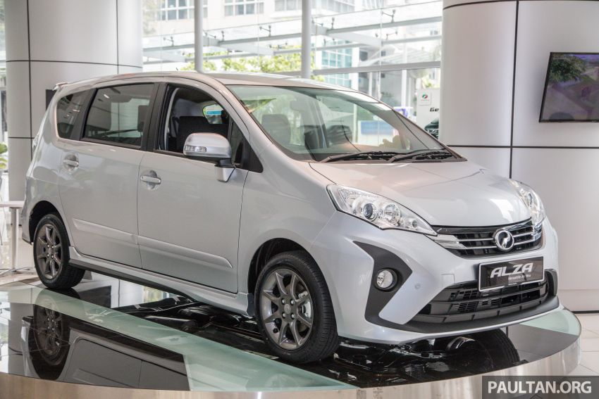 GALLERY: 2018 Perodua Alza facelift – Advance, SE Image #859738