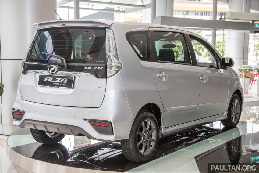 GALLERY: 2018 Perodua Alza facelift – Advance, SE Image #859741