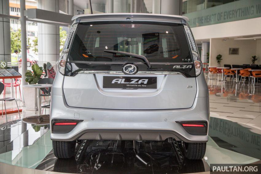 GALLERY: 2018 Perodua Alza facelift – Advance, SE Image #859728