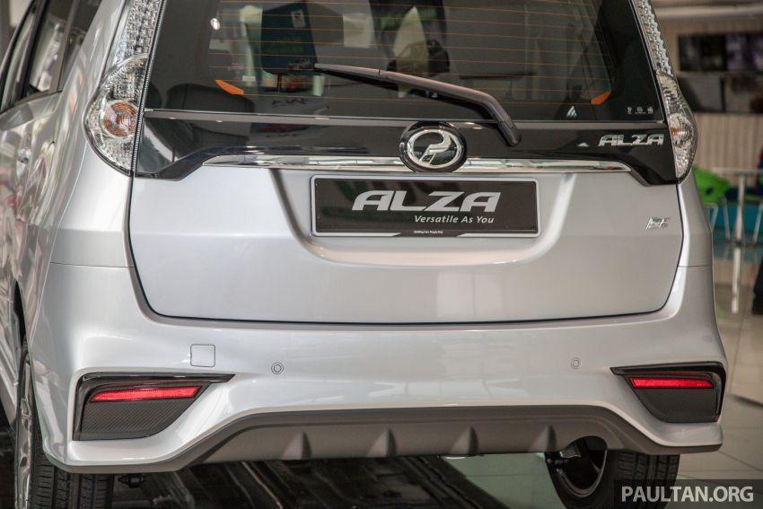 GALERI: Perodua Alza facelift – Advance dan SE Image #861399