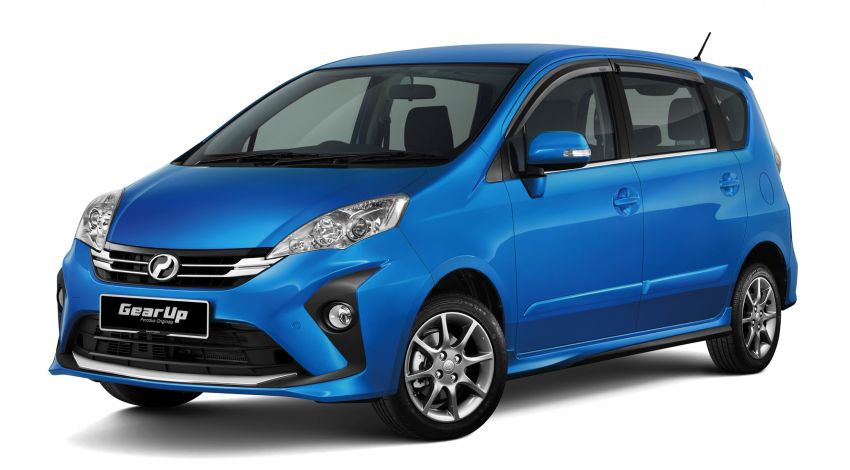 2018 Perodua Alza facelift introduced – from RM51k Image #857734